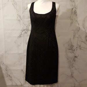 Donna Morgan Jaquard Sheath Dress